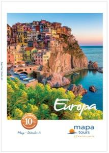 Catálogo de viajes Europa 2016