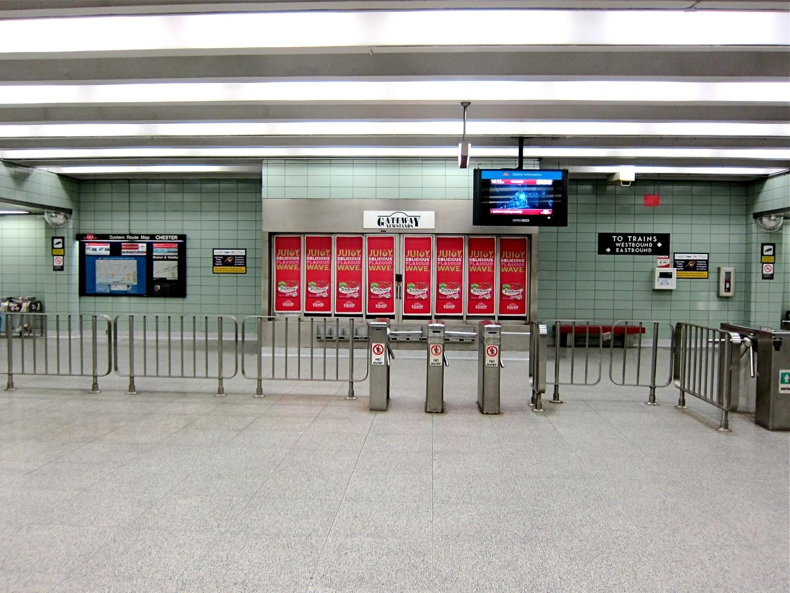 Chester station entrance