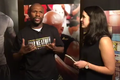 Floyd Mayweather gives ignorant response about the #MeToo movement