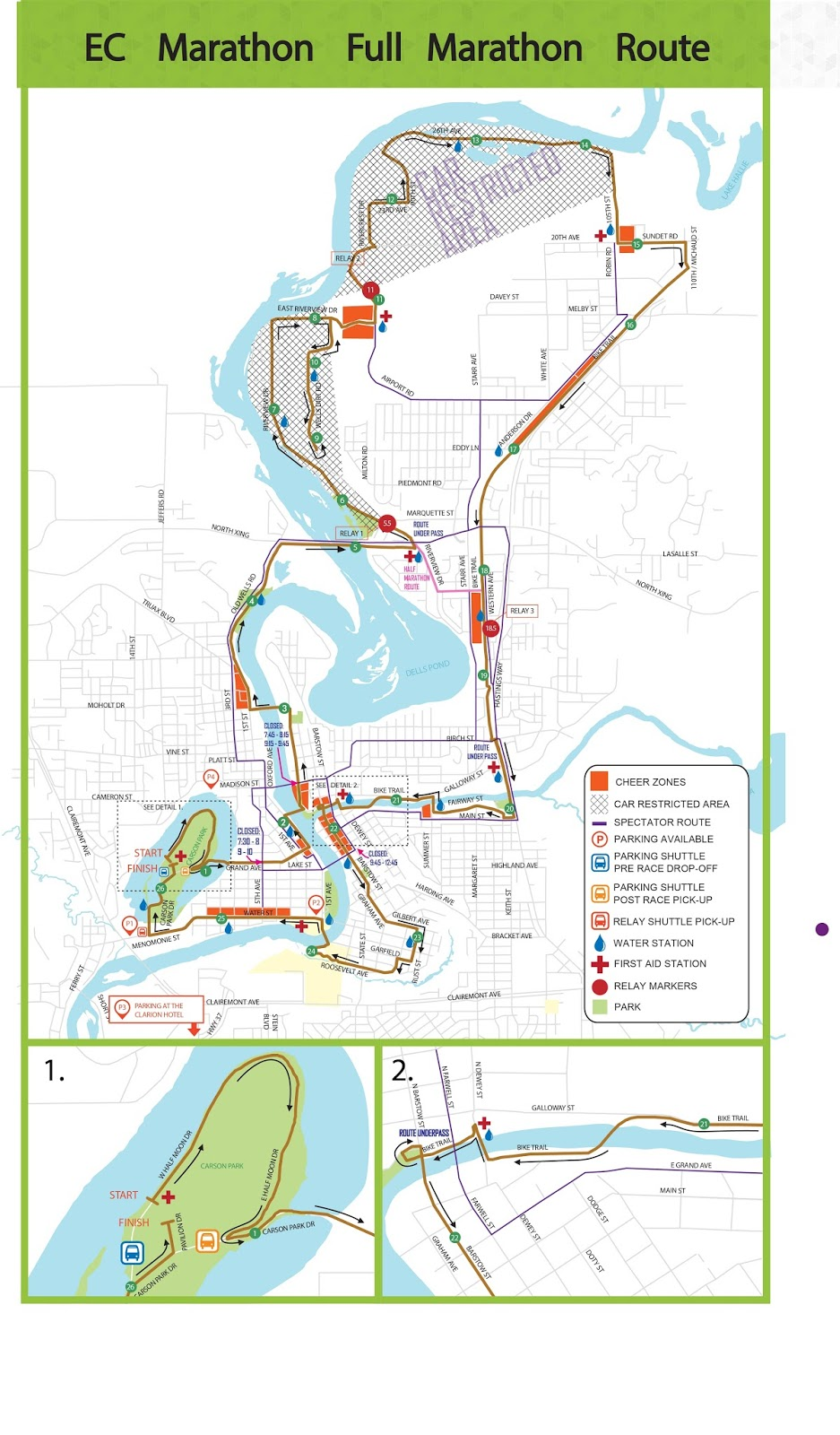 eau claire marathon internship maps in progress
