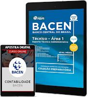 apostila Concursos BACEN - Banco Central do Brasil (2017)