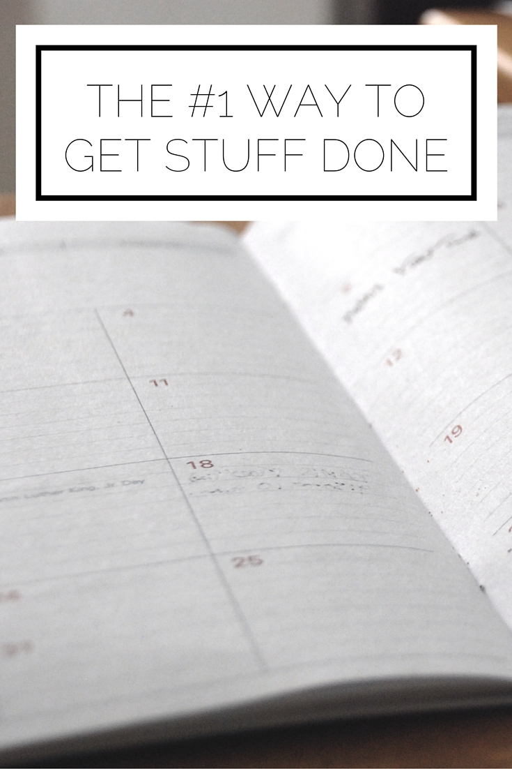 Click to read now or pin to save for later! Want to be more productive? Here's the #1 way to get stuff done