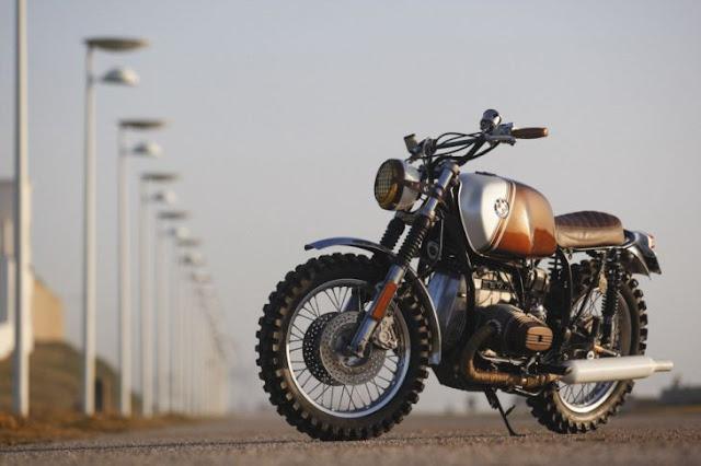 Motocicleta BMW vintage es perfecta para todo macho alfa