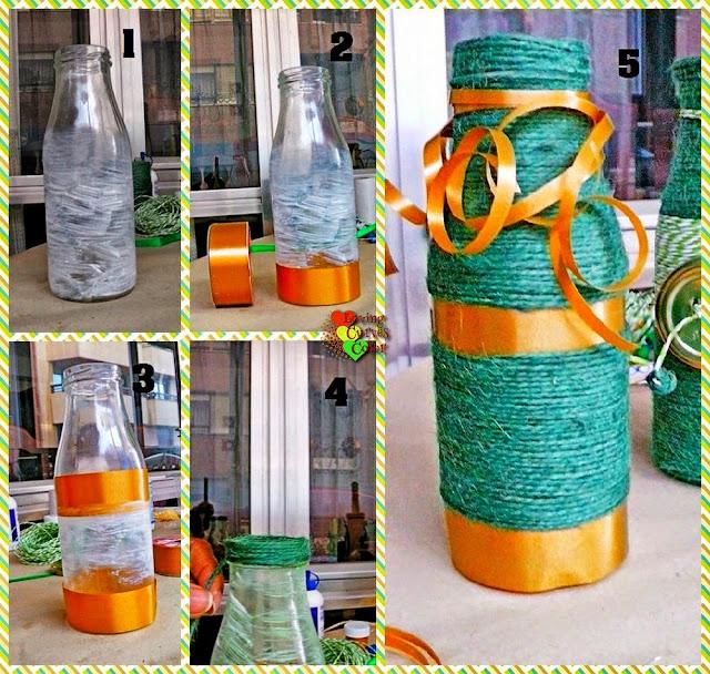 Botellas-decorativas