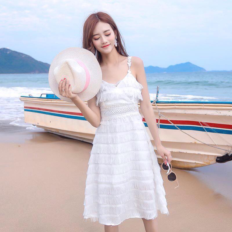 Dam di bien o Me Linh