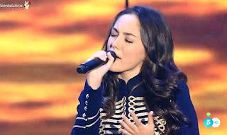 María Parrado canta Qué hay más allá. La Voz Directos