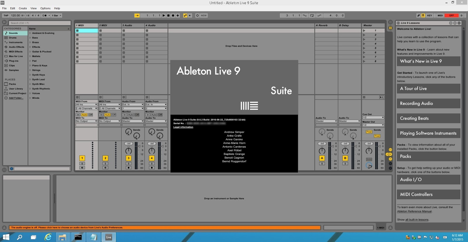 Ableton suite 8.2.7 crack mac win tested 2017
