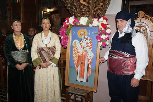 Τιμήθηκε η Ιερά μνήμη του Αγίου Ιερομάρτυρος Φωκά εκ Σινώπης του Πόντου
