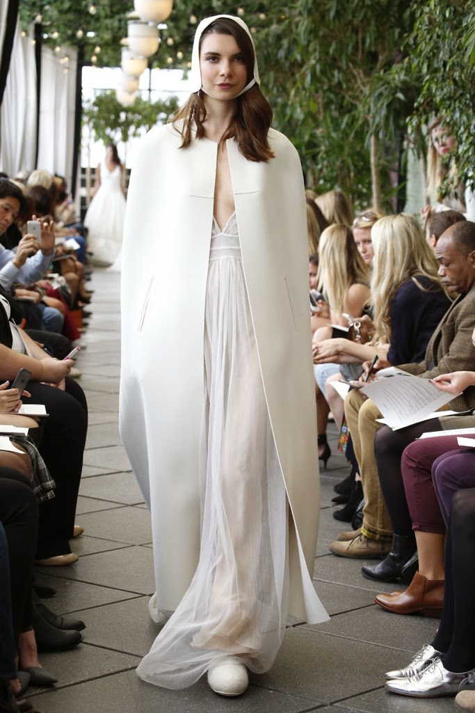 Wedding Dresses : Delphine Manivet Bridal Fall 2015 :: Cool Chic Style Fashion