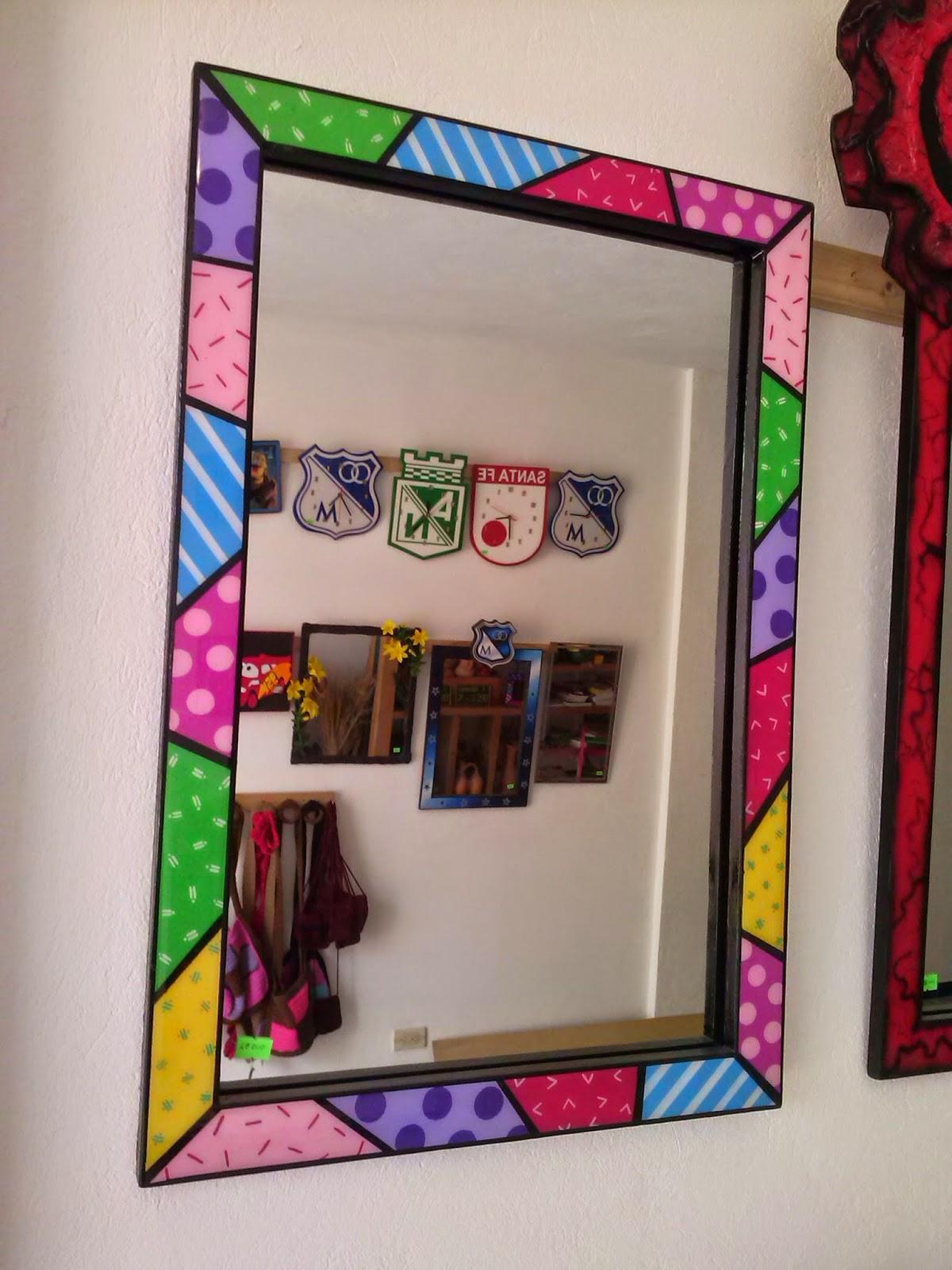 Galeria arte y dise o madekids marcos para espejos for Disenos de marcos para espejos grandes