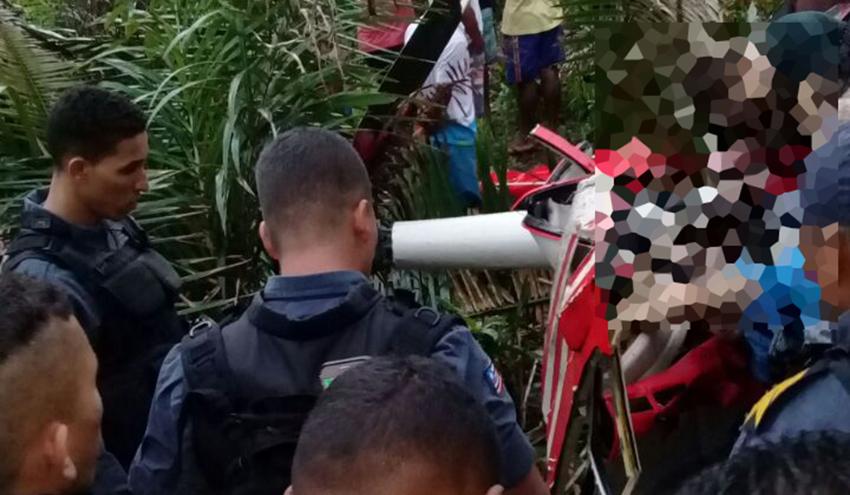 Acidente de helicóptero mata quatro em Rosário
