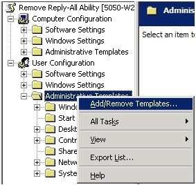 outlook 2007 template shortcut - etactiks disable outlook reply all functionality using