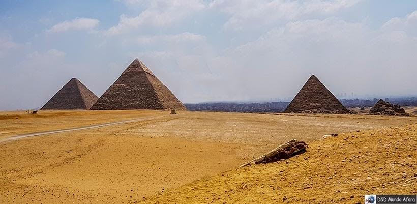 Pirâmides do Egito por dentro- Quéops, Quéfren e Miquerinos