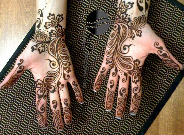 Latest Arabic Mehndi Designs 2014 PicS , New Arbi Mehndi Designs 2014 Pictures , Arabic Bridal 2014 Photos