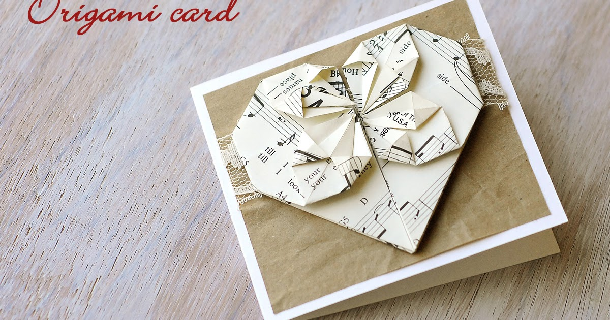 Origami Valentine S Day Card Sas Does Origami