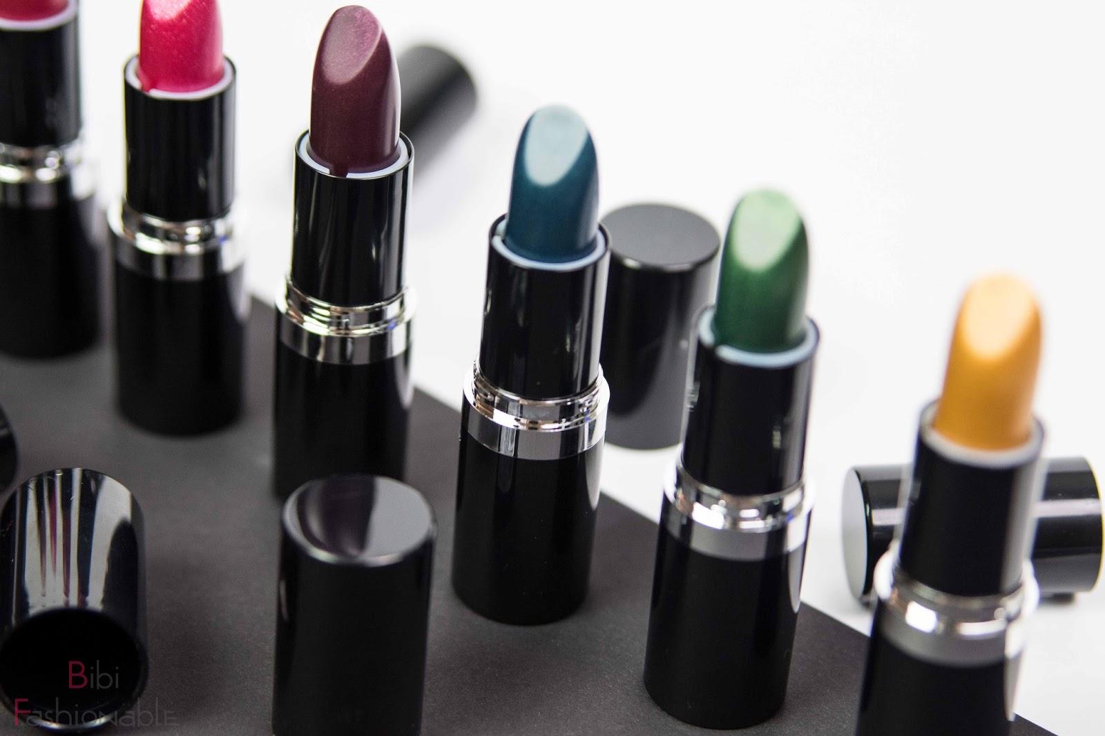 essence metal shock lipsticks Farben 5-8