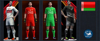 Belarus National Football Team kit 2016-17 Pes 2013