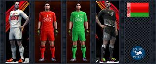 Belarus National Football Team kit 2016-17 Pes 2013