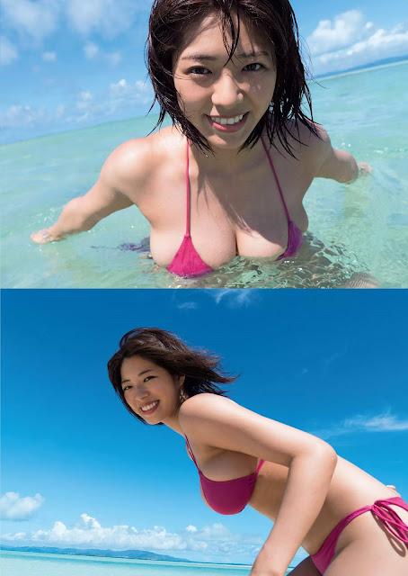 わちみなみ Wachi Minami Weekly Playboy No 33 2017 Pics