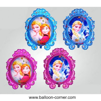 Balon Foil Frozen Magic Mirror