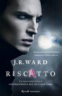 copertina Riscatto Lover Avanged La confraternita del pugnale nero 7 J.R.Ward