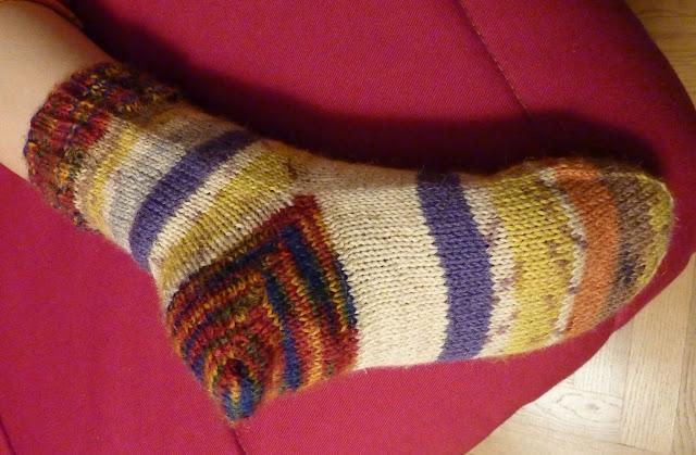 Comment tricoter un talon