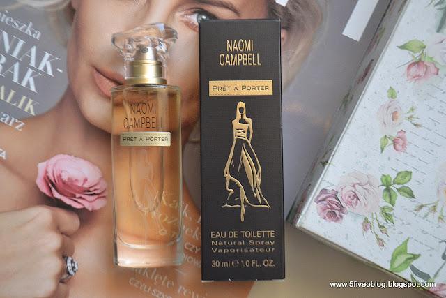 Nowy zapach Naomi Campbell, Pret a porter dla kobiet.