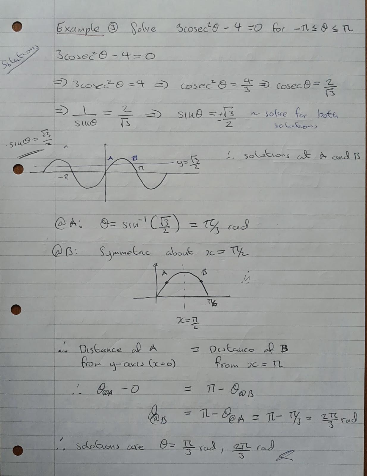 A Level Maths Notes A2