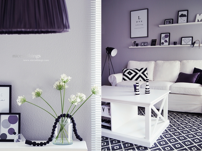 new coffeetable and wooden pearls lamp nicest things. Black Bedroom Furniture Sets. Home Design Ideas