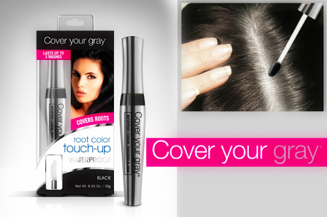 Waterproof RootTouch-up Cover your gray by barbies beauty bits