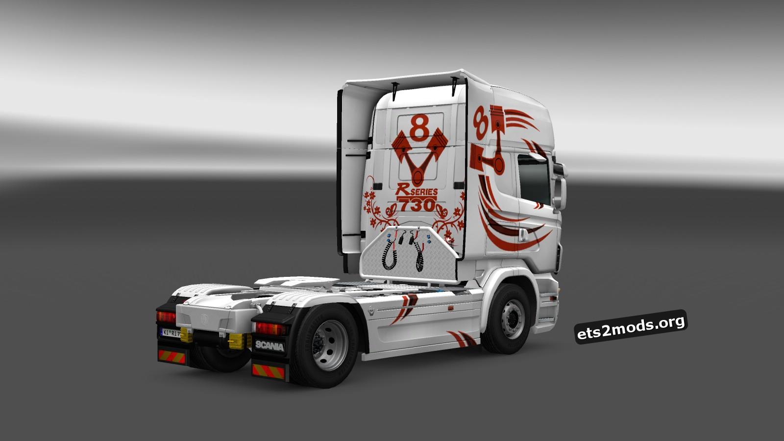 Theodora Logistics Skin for Scania RJL