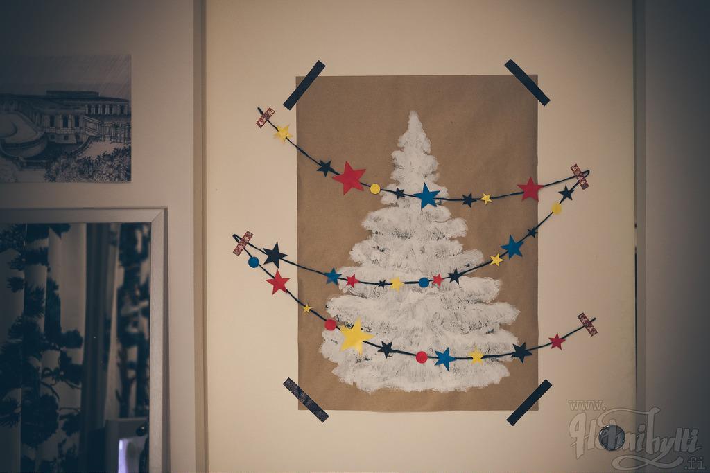 diy-joulukuusi-juliste-maalattu