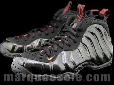 b02939347d7 Here is a detailed look at the upcoming Nike Air Foamposite One Sneaker in  Black – Red – Gold Speckle