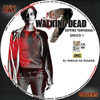 The Walking Dead S7 D1 Maxcovers
