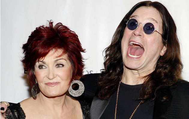 Ozzy Osbourne Sharon Osbourne celebran aniversario bodas fotos