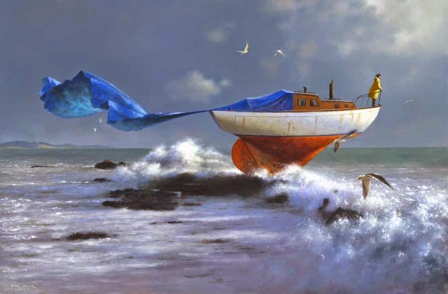 Depois da Tempestade - Um mundo encantador pintado por Jimmy Lawlor