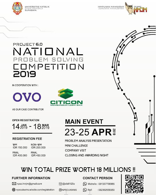 Lomba Business Case National Problem Solving 2019
