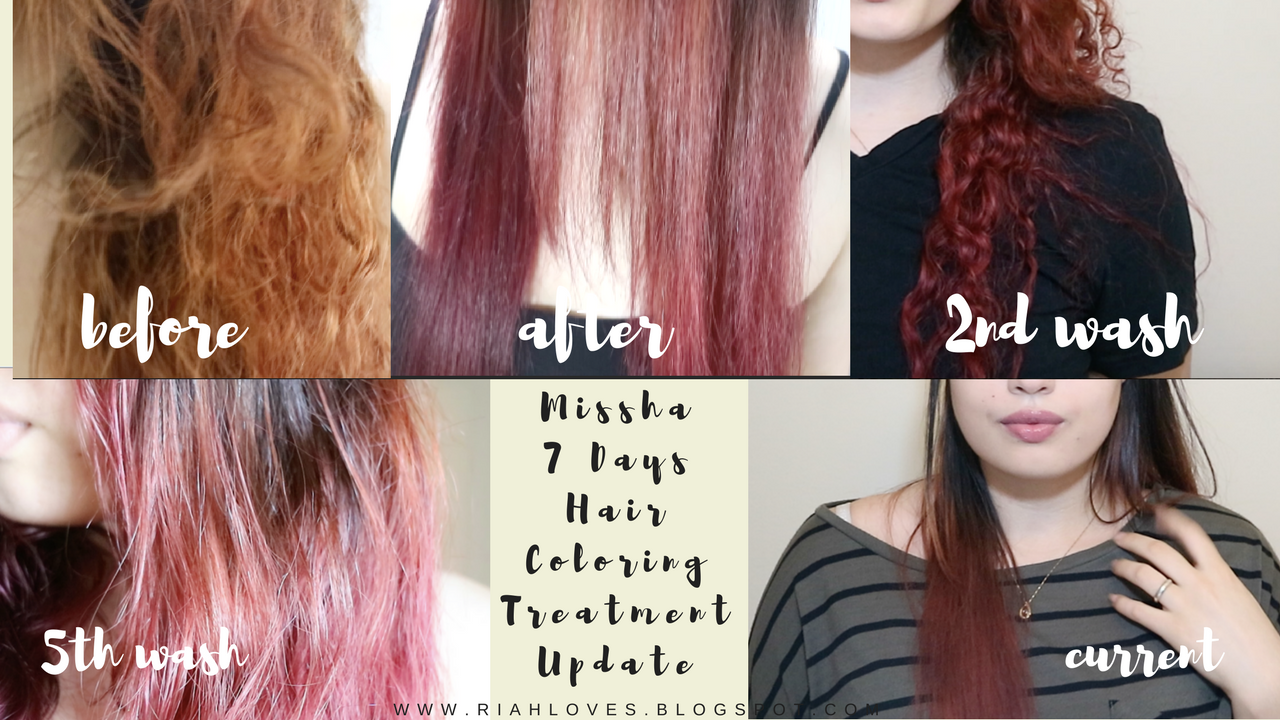 Update Missha 7 Day Hair Color
