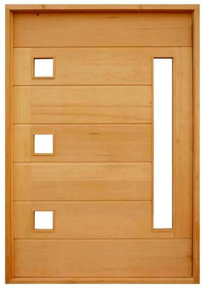 Modelos de portas de madeira fotos e onde comprar for Portas de apartamentos modernas