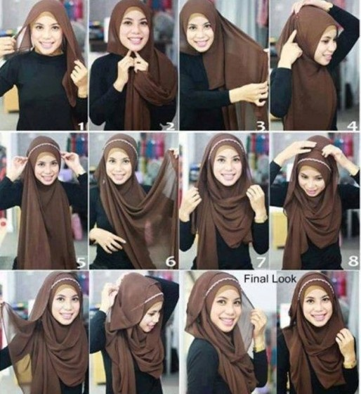 0010cc1ec34f Beautiful and Modern Hijab Styles 2017-2018 Trend In Pakistan - Eye ...