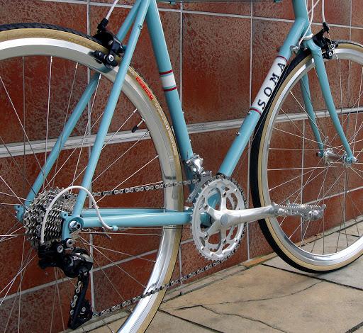 2 Fortune 700x28 700c x 28mm Fixie Urban Road Bike Slick Tires tyres Green