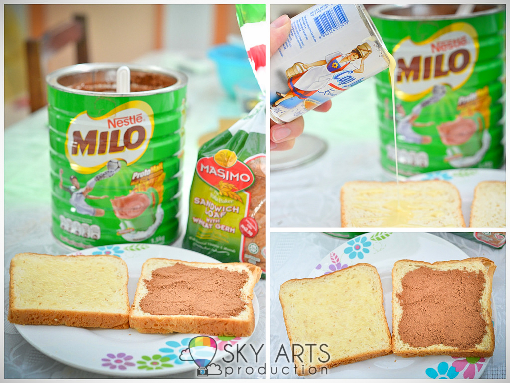 Hot Wheels Bread Boxs Hijau My Simple Special Milo Breakfast Recipe Sometimes I Will Spice It Up By Adding Into Menu Let Me Share With You Way To Prepare Tcs Roti Sedap
