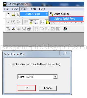PLC Auto Online Serial Port
