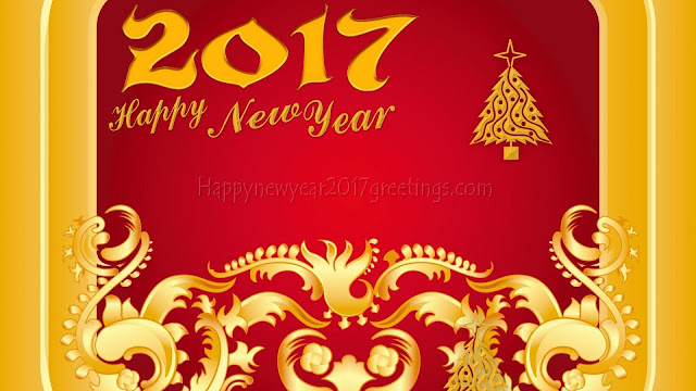 New Year 2017 Golden Full HD Wallpapers Download