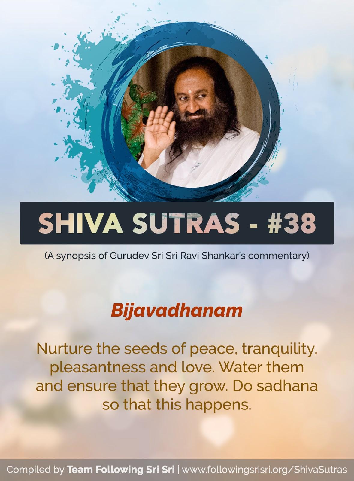 Shiva Sutras - Sutra 38