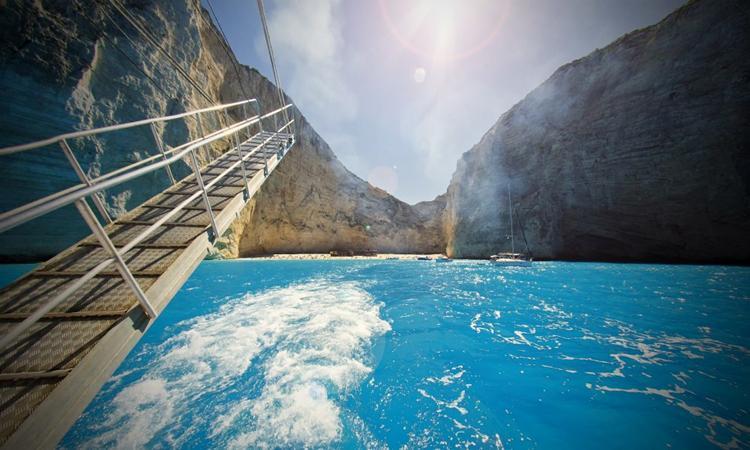 The most famous boat trip in Zakynthos, Greece!