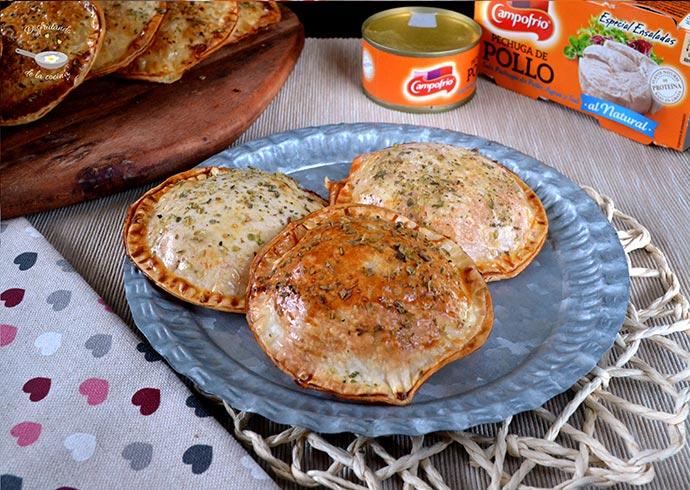 Empanadillas de Pechuga de Pollo picantitas