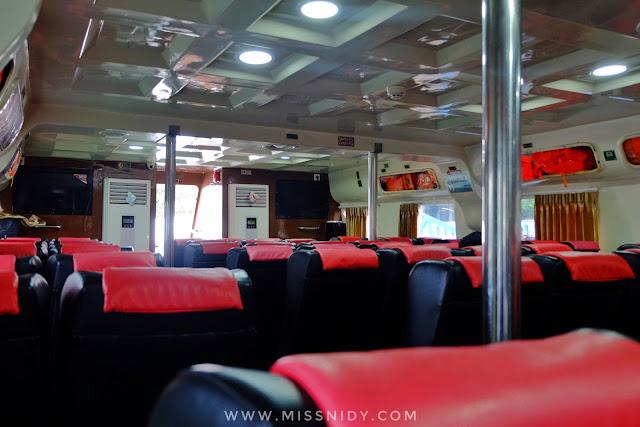 pengalaman naik kapal KM Express Bahari ke Pulau Tidung