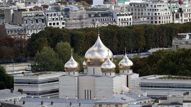 Di Tengah Ketegangan Politik, Perancis Resmikan Gereja Ortodoks Rusia
