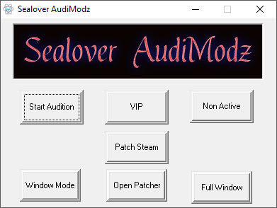 Sealover AudiModz Hack Audition Redbana VIP